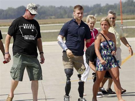 taylor morris iowa quadruple veteran amputee