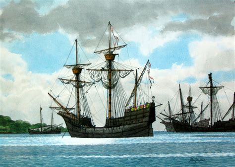 Ship Vasco Da Gama by Scottishboating Gardner Marine Artist