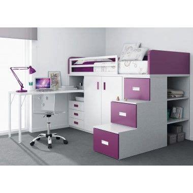 lit superpose avec bureau lit superpos 233 avec tiroirs bureau armoire et escalier avec trois tiroirs deco