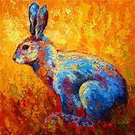 Rabbit Art Paintings