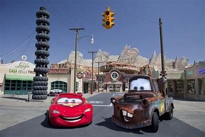 Disneyland Halloween Land Adventure Cars Carsland Radiator