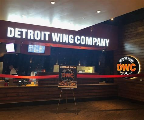 Detroit Wing Company Opened Monday Inside Mgm Grand Detroit