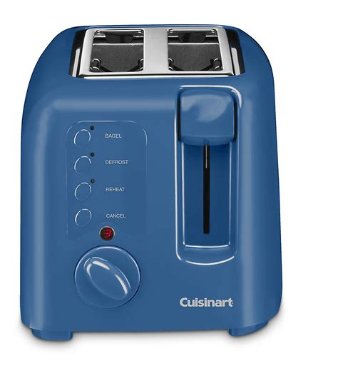 blue toasters cuisinart cpt 120db 2 slice toaster blue sears outlet