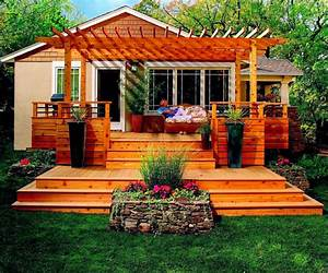 Garden Design With Pictures Of Decks For Small Back Deck