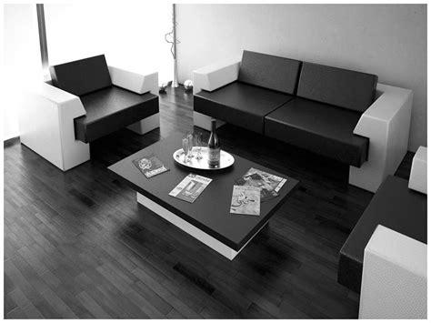 black and white contemporary interior design ideas for