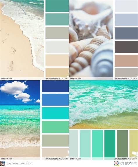 25+ Best Ideas About Beach Color Palettes On Pinterest