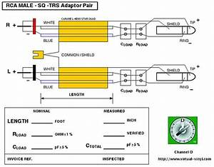 Xlr To Rca Cable Wiring Diagram