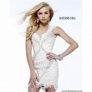 sherri hill 9803 short open back cocktail dress crazy With sherri hill wedding dresses 2017