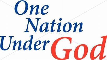 Nation God Under Independence Word July 4th