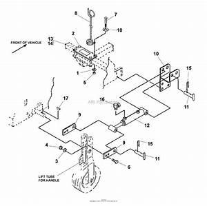 Bunton  Bobcat  Ryan Lawnaire Parts Diagram For Hydraulic