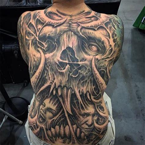 dark imagery tattoos macabre tattoos inked magazine