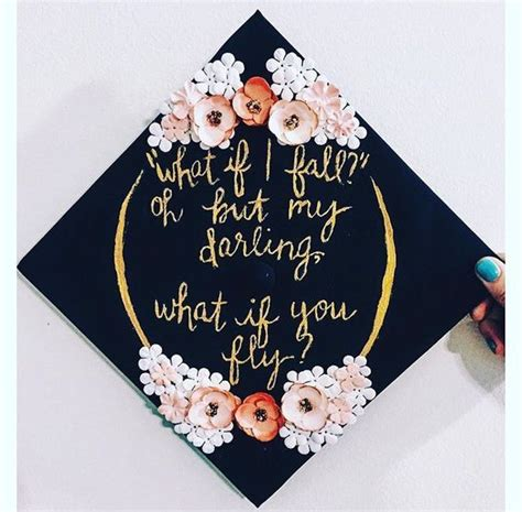 Decorating Ideas With Quotes by 1213 Best Graduation Cap Designs Images On