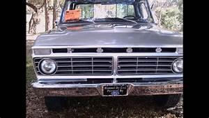 1974 Ford F100 Truck Slvr