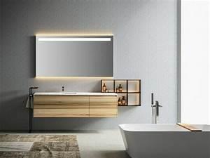 stunning luminaire salle de bain bois gallery design With carrelage adhesif salle de bain avec applique led castorama
