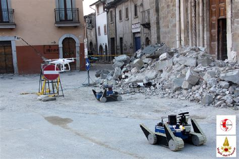 human robot disaster response team successfully deployed