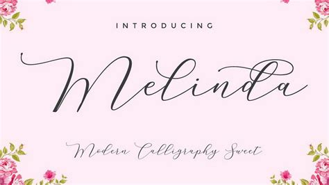 modern calligraphy fonts   personal