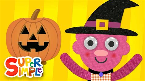 happy face halloween song super simple songs youtube