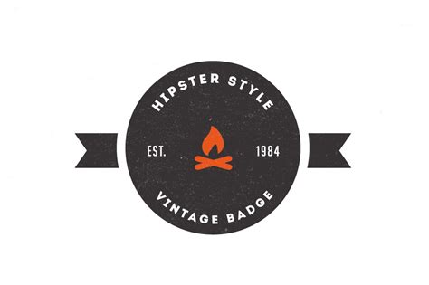 trendy vintage logos badges logo templates creative
