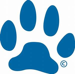 The gallery for --> Blue Paw Print Logo Starts With B
