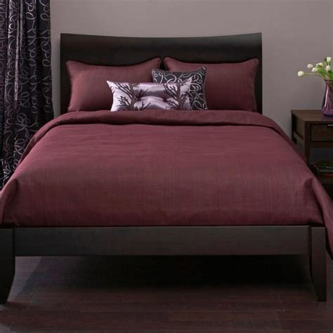 Wine Colored Bedding  Bedroom Ideas Pinterest