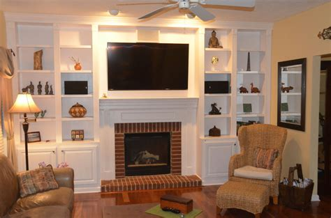 build  fireplace bookcase  steps  pictures