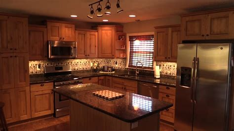 install  cabinet lighting   kitchen youtube