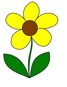 stem flowers flower clipart cliparts co