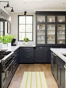 Designing, Home, Thoughts, On, Choosing, Dark, Kitchen, Cabinets