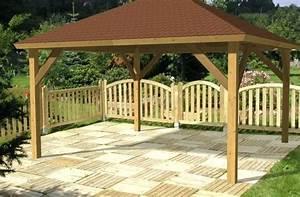 Holzpavillon Selber Bauen : pavillon 3x3 holz ~ Orissabook.com Haus und Dekorationen
