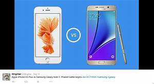 Iphone 6s vs galaxy note 5 specs review battle of the for Iphone 5 displays ship month ceo
