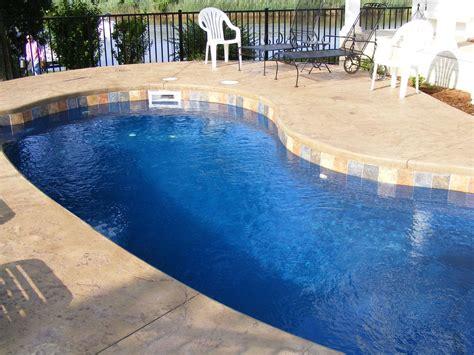 pool coping ideas fiberglass pool coping paver vs cantilevered concrete quick comparison leisure pools of austin
