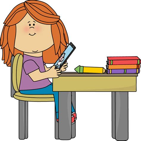 Student Sitting At Desk Clipart by School Clipart Education Clip School Clip For