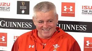 Warren Gatland Full Pre-Match Press Conference - Wales v ...