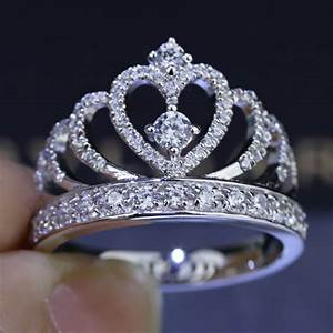 online get cheap crown ring aliexpresscom alibaba group With crown wedding rings