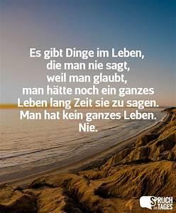 Dinge Die Man Braucht : beliebte spr che ~ Markanthonyermac.com Haus und Dekorationen