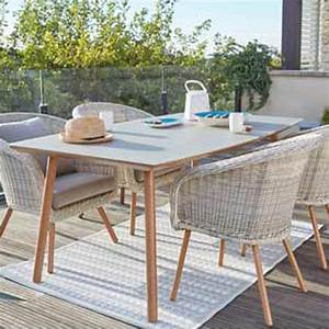 Table Pour Terrasse : terrasse et jardin leroy merlin ~ Teatrodelosmanantiales.com Idées de Décoration
