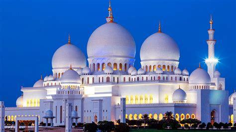 Abu Dhabi Mosque Wallpaper by Abu Dhabi Sheikh Zayed Mosque At Hd Wallpaper