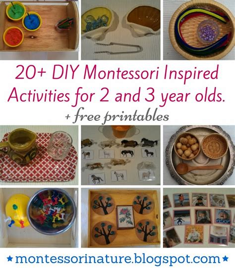 for 3 year olds 20 diy montessori inspired activities for 2 and 3 year