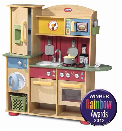 Little Tikes Cookin' Creations Wood Kitchen In Rainbow Toy