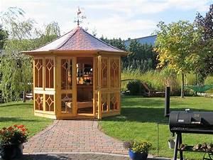 Gartenlauben Aus Holz : gartenlaube grilllaube und pavillon aus holz geschlossen ~ Watch28wear.com Haus und Dekorationen