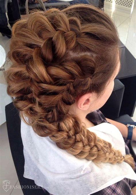 pretty braided hairstyles  prom pretty braided