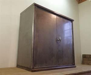 Armoire Industrielle Vintage : armoire administrative industrielle vintage les vieilles ~ Teatrodelosmanantiales.com Idées de Décoration