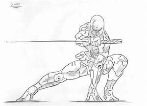 How to draw little ninja