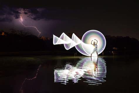 Light Painting & Night Photography Sunshine Coast Wedding