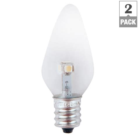 non dimmable led lights meridian 7w equivalent bright white clear c7 non dimmable