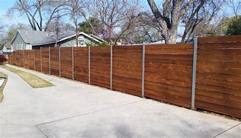 Custom Wood Fence Austin Tx