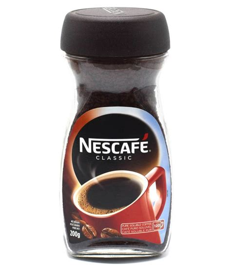Nescafé is an instant coffee brand made by nestlé, a swiss company dating back to the 1800s. Nescafe Coffee Beans 200 gm: Buy Nescafe Coffee Beans 200 gm at Best Prices in India - Snapdeal