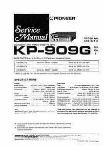 Pioneer Kp-909g