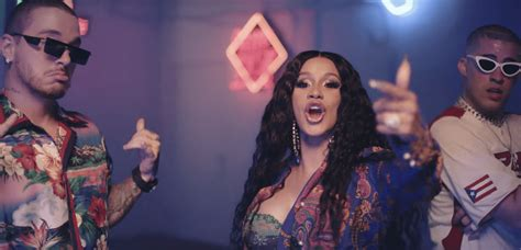 (video) Cardi B Ft. Bad Bunny, J Balvin
