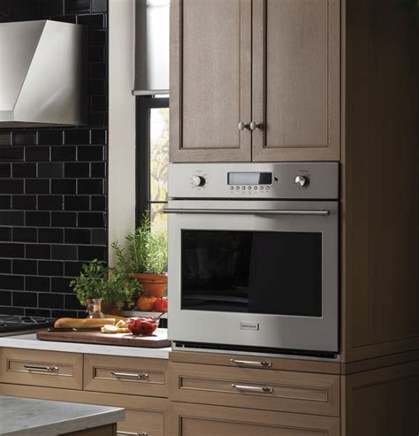 zetshss monogram  electronic convection single wall oven stainless steel